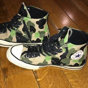Converse Camo Jungle Print Sneakers